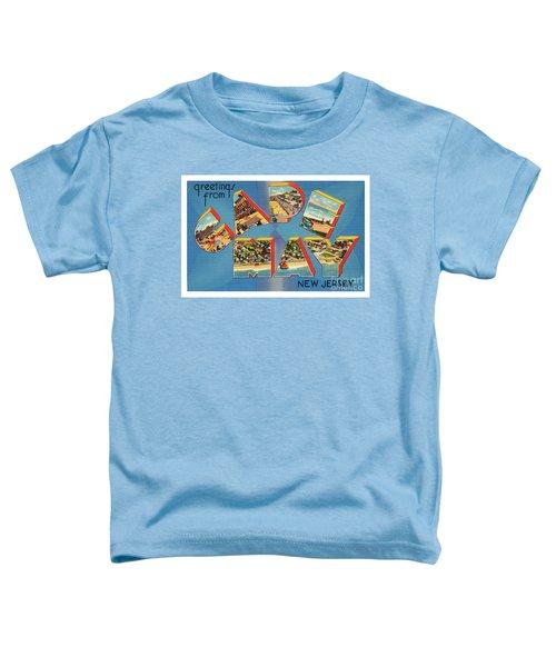 Cape May Greetings - Version 2 Toddler T-Shirt