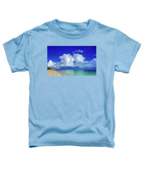 Caribbean Clouds Toddler T-Shirt