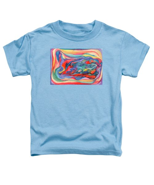 Colorful Abstract Palette Toddler T-Shirt