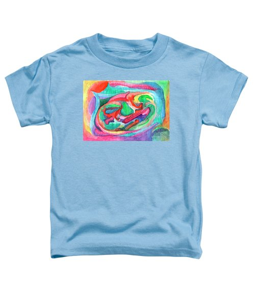 Colorful Abstraction Toddler T-Shirt
