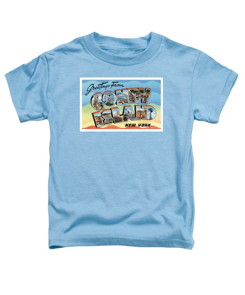 Coney Island Greetings - Version 2 Toddler T-Shirt