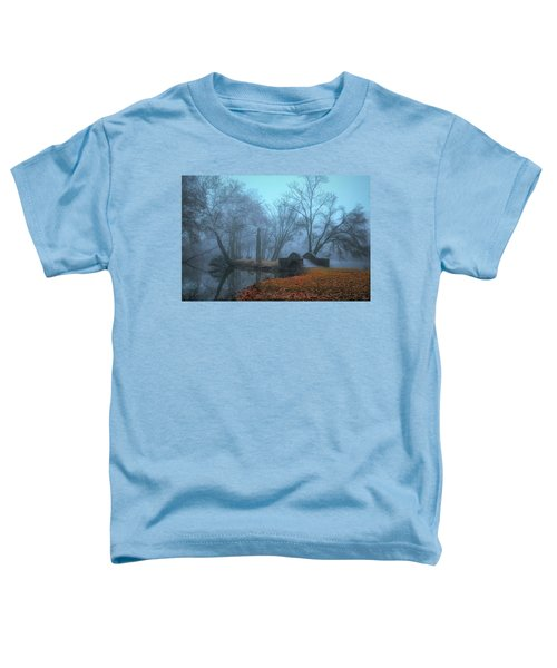 Crossing Into Winter Toddler T-Shirt