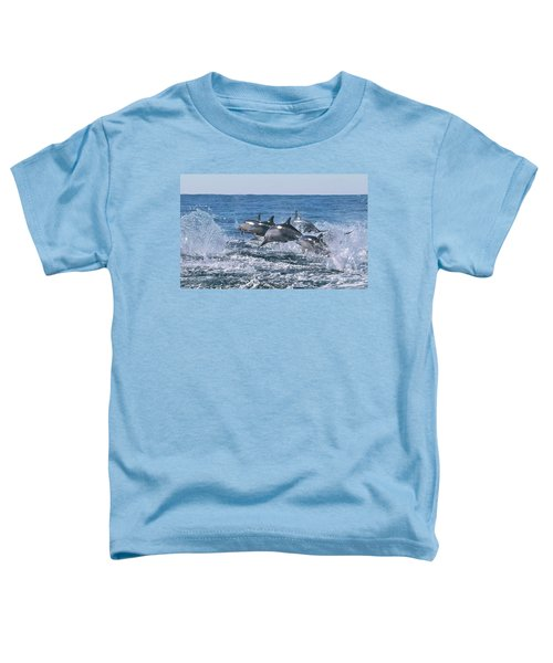 Dancing Dolphins Toddler T-Shirt