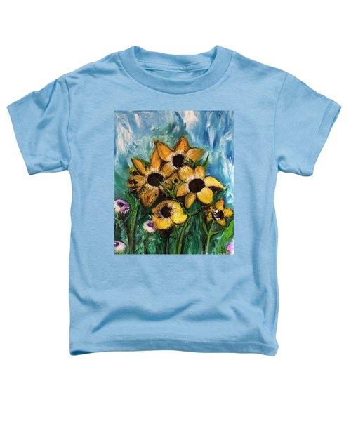 Dancing Flowers Toddler T-Shirt