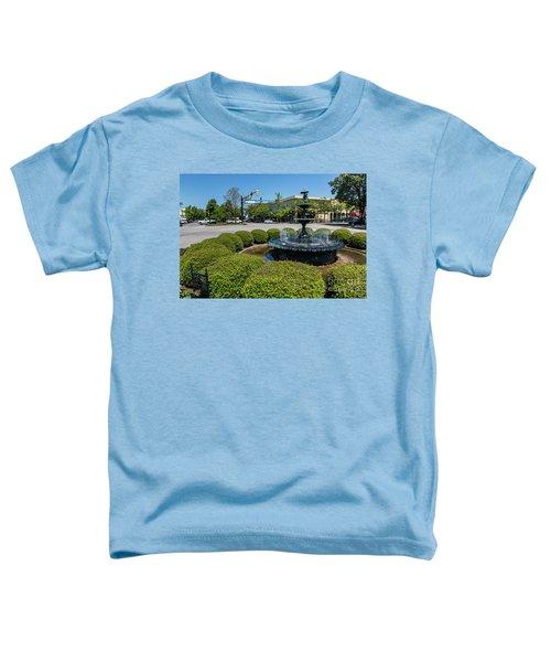 Downtown Aiken Sc Fountain Toddler T-Shirt