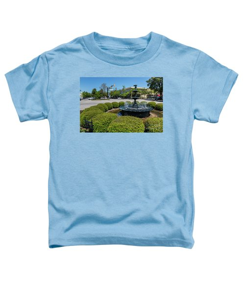 Downtown Aiken Sc Fountain Toddler T-Shirt