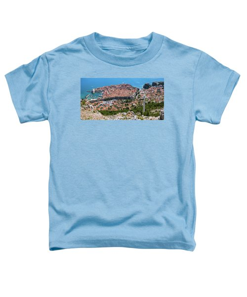 Dubrovnik Panorama From The Hill Toddler T-Shirt