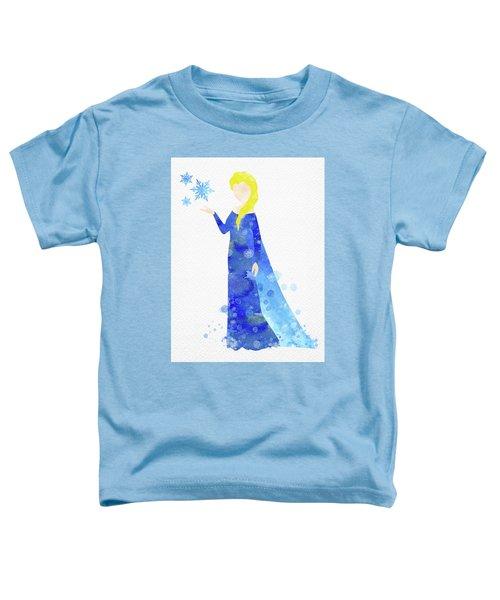 Elsa Watercolor Toddler T-Shirt