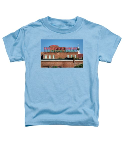 Enterprise Mill - Graniteville Company - Augusta Ga 1 Toddler T-Shirt