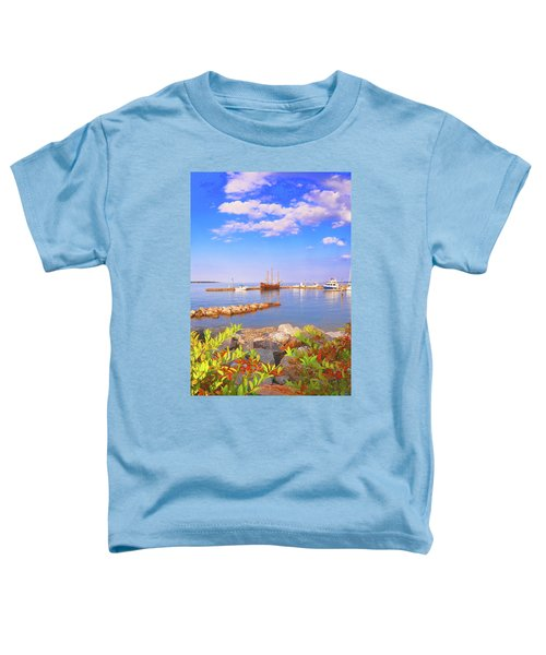 Evening At The York River In Yorktown Virginia Toddler T-Shirt