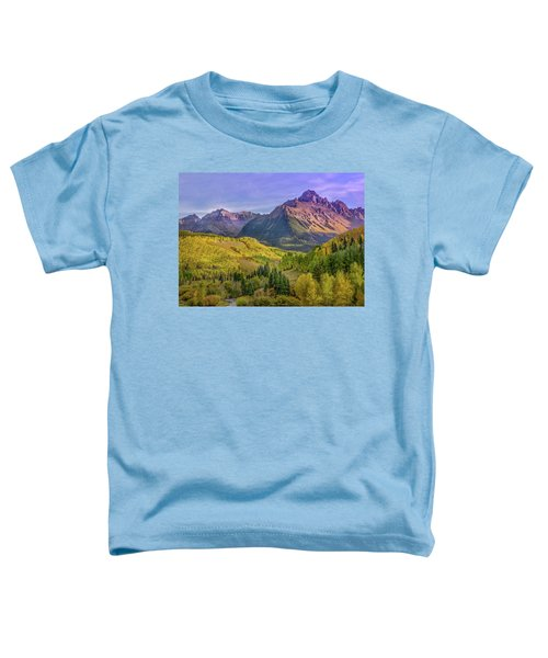 Fall Color In The San Juan Mountains Toddler T-Shirt