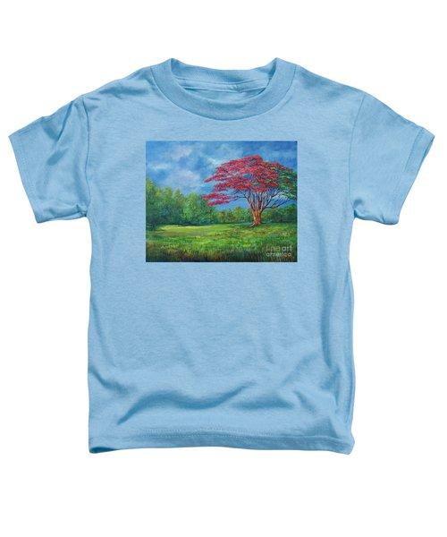 Flame Tree Toddler T-Shirt