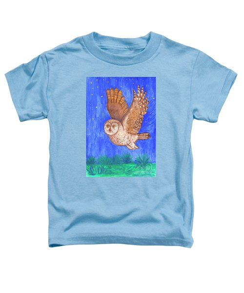 Flying Owl Toddler T-Shirt