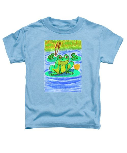 Funny Frogs Toddler T-Shirt