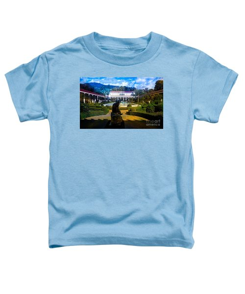 Getty Villa Wide Exterior View  Toddler T-Shirt