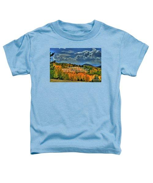 God's Handiwork Toddler T-Shirt