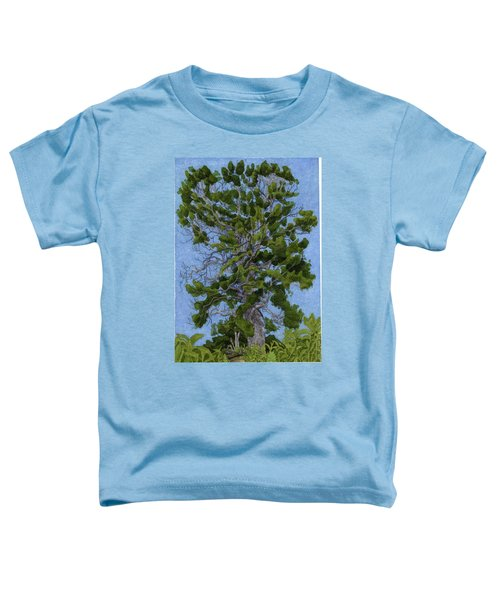 Green Tree, Hot Day Toddler T-Shirt