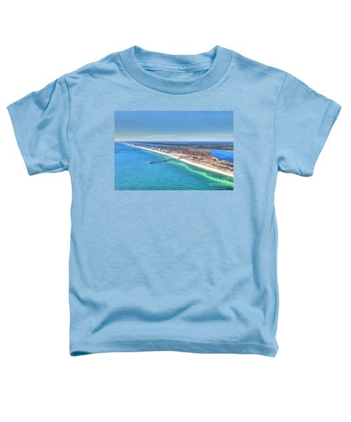 Gsp Pier And Beach Toddler T-Shirt