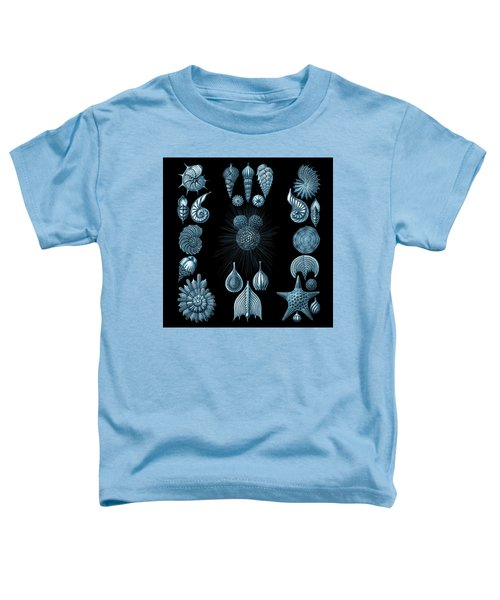 Toddler T-Shirt featuring the digital art Haeckel Thalamphora by Joy McKenzie