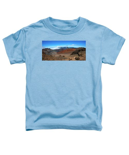 Haleakala Crater Panoramic Toddler T-Shirt