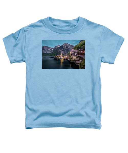 Hallstatt Village At Dusk, Austria Toddler T-Shirt
