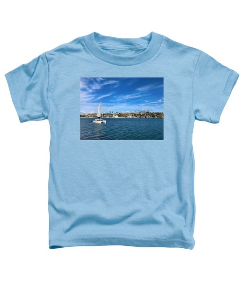 Harbor Sailing Toddler T-Shirt