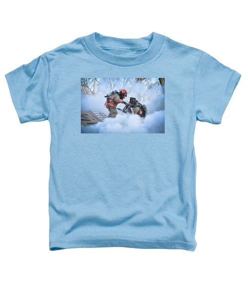 Toddler T-Shirt featuring the photograph Hazardous Duty by Carl Young