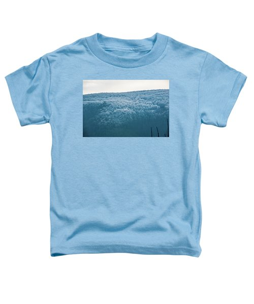 Hoarfrost Blue Mountain Toddler T-Shirt