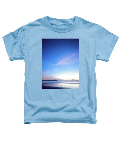 Horses Play In The Surf At Twilight Toddler T-Shirt