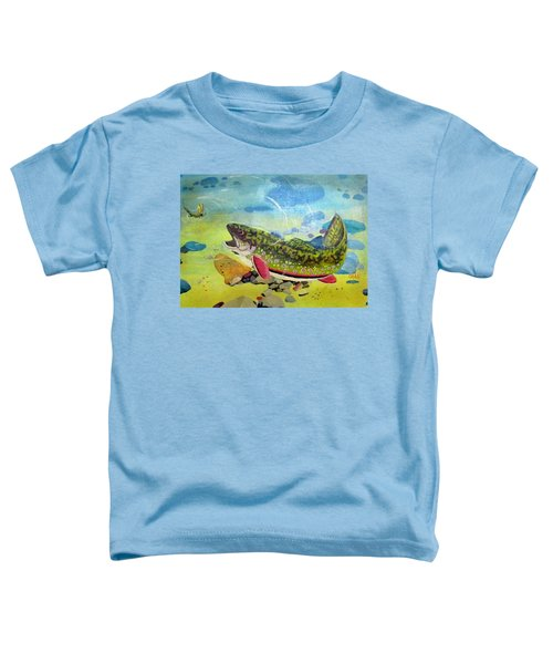 Hungry Trout Toddler T-Shirt