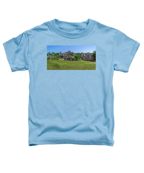 In The Footsteps Of The Maya Toddler T-Shirt