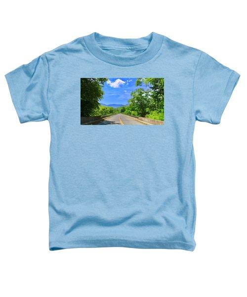James River Bridge, Blue Ridge Parkway, Va. Toddler T-Shirt