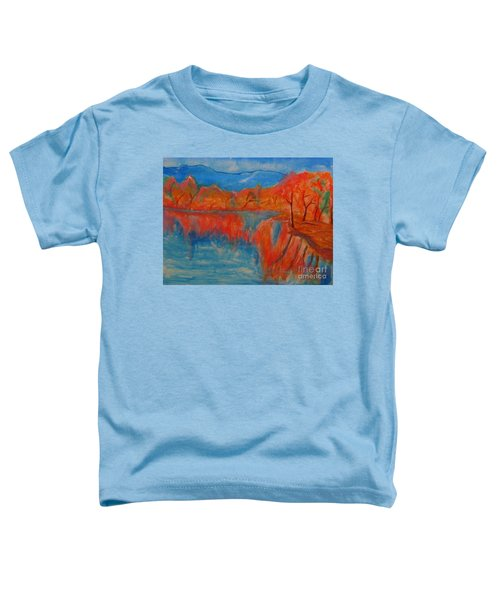 Lake Mirror Toddler T-Shirt