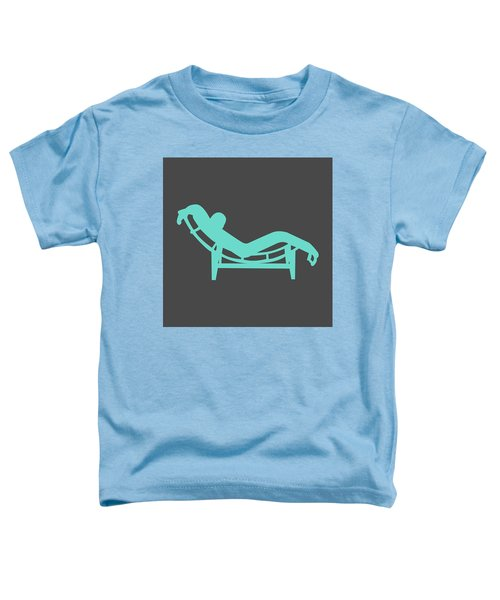 Le Corbusier Chaise Lounge Chair I Toddler T-Shirt