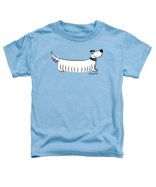 Long Dog Toddler T-Shirt