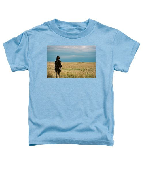 Toddler T-Shirt featuring the photograph Look To The West by Carl Young