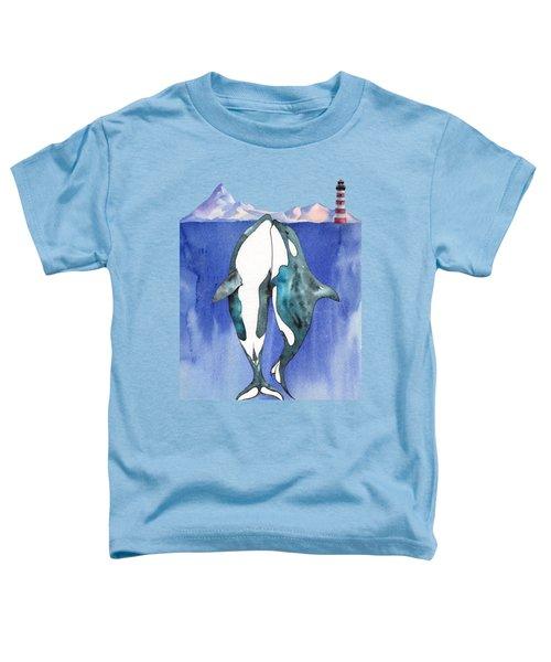 Love At Sea - Painting Toddler T-Shirt