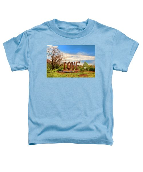 Love In Farmville Virginia Toddler T-Shirt