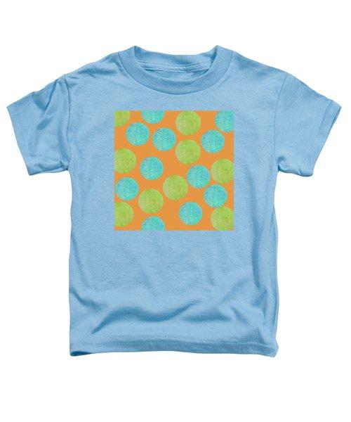 Malaysian Batik Polka Dot Print Toddler T-Shirt