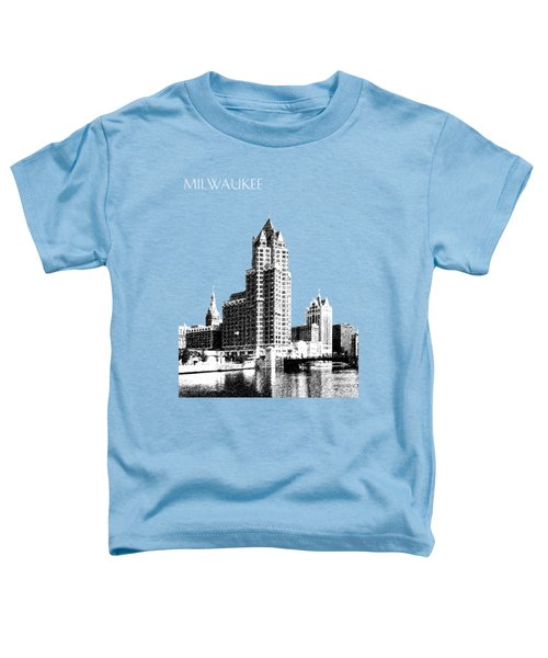 Milwaukee Skyline - 4 - Coral Toddler T-Shirt