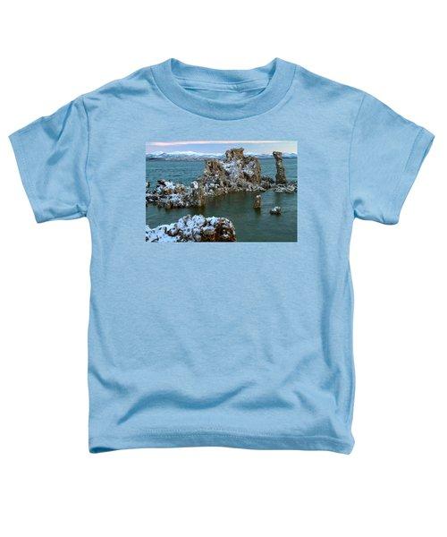Mono Lake Tufa Towers Sunrise Toddler T-Shirt