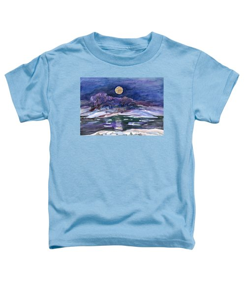 Moon Landscape Toddler T-Shirt