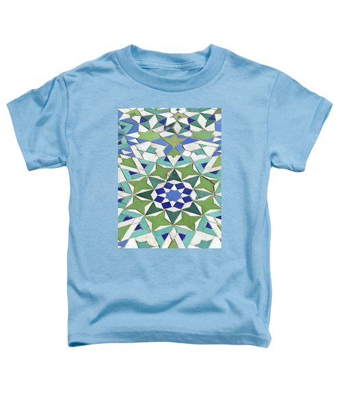 Mosaic Exterior Decorations Of The Hassan II Mosque Toddler T-Shirt