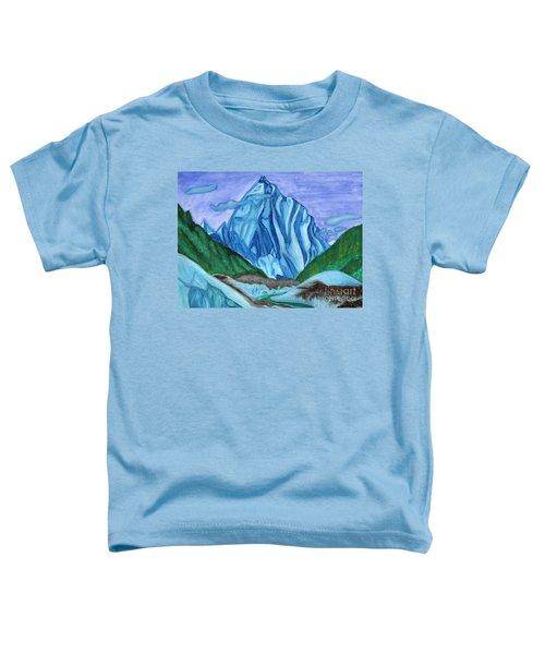 Snow Peak Above The Clouds Toddler T-Shirt