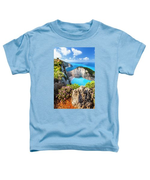 Navagio Bay Toddler T-Shirt