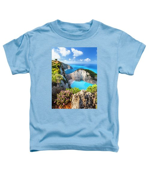 Navagio Bay Toddler T-Shirt