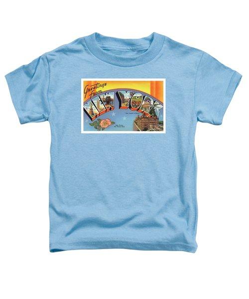 New York Greetings - Version 4 Toddler T-Shirt