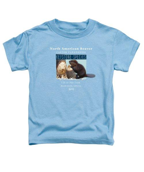 North American Beaver Toddler T-Shirt