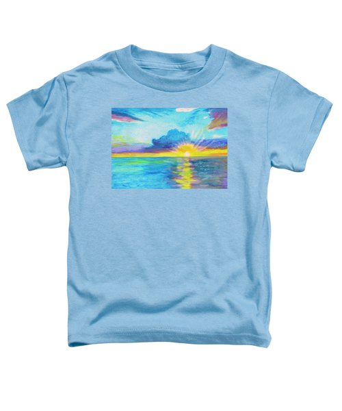 Ocean In The Morning Toddler T-Shirt