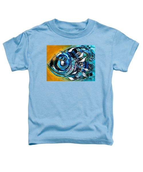 Ochre Fish Four Toddler T-Shirt
